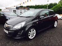 2014 Vauxhall Corsa SXI, 12 Months warranty, 2 years MOT, finance available