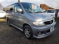 MAZDA BONGO CAMPERVAN WITH REAR CONVERSION, 2 BERTH, 5 SEATER