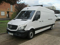 2014 14-REG Mercedes-Benz Sprinter 2.1TD 313CDI LWB - NEW SHAPE. £249 P/MONTH