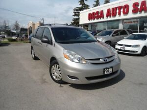 2010 Toyota Sienna 4 NEW TIRES NO ACCIDENTS 5dr CE 7-Pass E-T SA