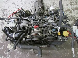 JDM Subaru Legacy EJ20 Twin Turbo Engine 5 Speed Transmission