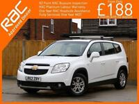 2012 Chevrolet Orlando 1.8 LT 6 Speed Auto 7-Seater MPV Climate Control Parking