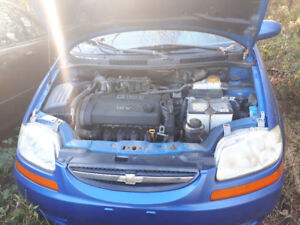 """Parting out"" Aveo 5 Hatchback"