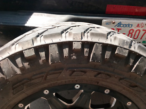 20X9 Fuel off road rims with 295 75 R20 nitto total grapplers