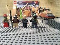 LEGO STAR WARS Desert Skiff set 9496 - USED