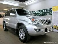 Toyota Land Cruiser LC5 3.0 D-4D Auto [10X SERVICES, SAT NAV, LEATHER, HEATED SE