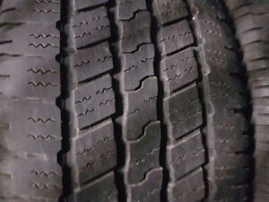 SET OF 275 60 20 GOODYEAR TIRES