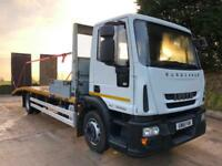2011 61 Iveco Eurocargo 120E22 EEV 23ft8 sterling beavertail winch