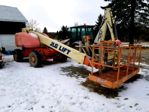 Jlg 600s manlift telescopic zoom boom