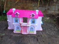 Lovely dolls house from Argos for free