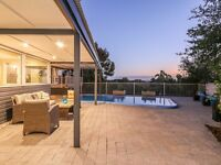 Architect designed Contemporary Executive style Multi-level home. Perth, Western Australia