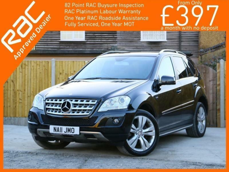 2011 Mercedes-Benz M Class ML350 CDI Turbo Diesel Sport Blue Efficiency 7G-Troni