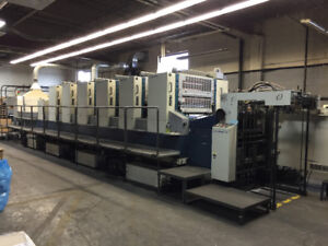 We buy and sell used printing equipment