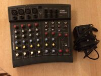 Sound craft small mixing desk
