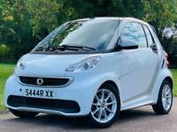 2012 smart fortwo cabrio PASSION MHD Auto Convertible Petrol Automatic