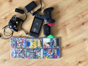 Nintendo Switch with Games and Accessories