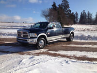 2012 Dodge 3500 4x4 QUAD CAB LARAMIE/LEATHER