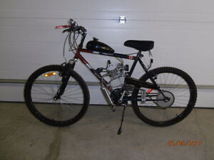 Gas 80cc Motorized Bike Save On Gas Many km For Your Few Dollars