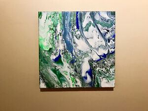 $25 Acrylic painting 12in x 12in Canvas. New. Painted by me