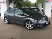 2012 SEAT Leon 2.0 TDI CR FR+ 5dr HATCHBACK in GREY