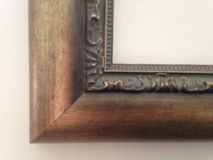 WOODEN FRAME 38 x 44 3/4 inches