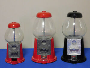Vintage Continental Gumball Machines 1980s