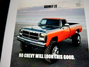 Wanted older dodge truck box