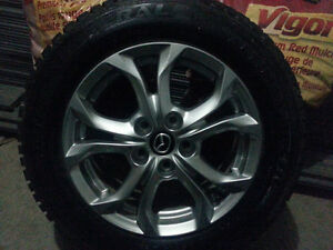 General Altimax Arctic tires with alloy Rims 2015/60 R 16