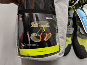 Climbing gear. Brand NEW. Shoes & Harness. Tags still on.