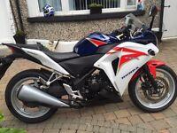 2 nice 250s Honda Cbr 250 900 miles and Kawasaki ninja250 both 2011 ,and motd
