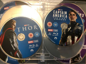 Marvel Complete Collection Blu-ray UK (17 movies)