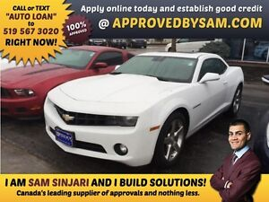 CAMARO - APPLY WHEN READY TO BUY @ APPROVEDBYSAM.COM