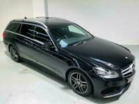 MERCEDES-BENZ E-CLASS E350 AUTO 3.0 BLUETEC AMG SPORT BLACK 2013 DIESEL ESTATE