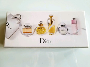 "Miniature Parfums ""les parfums de Dior"" collection Neuf blister"