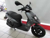 PIAGGIO TYPHOON 125cc, 66 REG ONLY 5990 MILES, 4 STROKE AUTOMATIC SCOOTER...