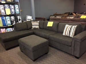 BRAND NEW SECTIONAL FOR ONLY $1098 WITH FREE DELIVERY