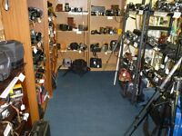 Vintage Cameras, SLRs, Folding Cameras, Collectable Cameras & Accessories, Bags ,Nikon, Canon, Leica