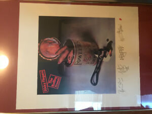 "Rolling Stones Limited Edition ""Sticky Fingers"" Lithograph"