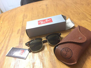 RAY BAN BROWN CLUBMASTER