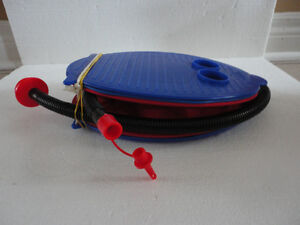 Air foot pump for inflatable furniture, pool toys, balloons, etc London Ontario image 2