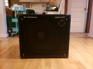 Cabinet pour basse SWR Basic 2-way 1×15+tweeter