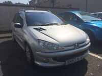 *YEARS MOT* Peugeot 206 SW quiksilver 2.0 HDI estate
