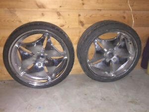 18inch chrome rims