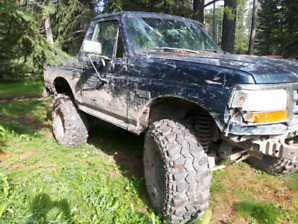 1995 ford Bronco lifted