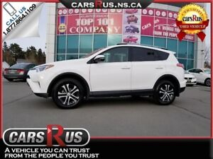 2017 Toyota RAV4 LE AWD Only 8700 KMS!!