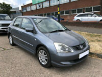 2004 HONDA CIVIC 1.4i PETROL 5 DOOR HATCHBACK ( CHEAP PART EX TO CLEAR )