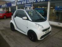 SMART FORTWO CABRIO 1.0 PASSION MHD 2 DOOR WHITE CONVERTIBLE AUTOMATIC PETROL