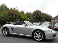 Porsche Boxster 2.7 987 CONVERTIBLE JUST 44000 MILES FULL LEATHER 55 PLATE