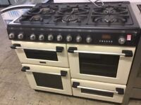 Hotpoint Cannon Cream Range dual fuel Cooker