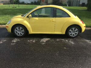 Yellow 2008 Volkswagen Beetle with Remote Starter